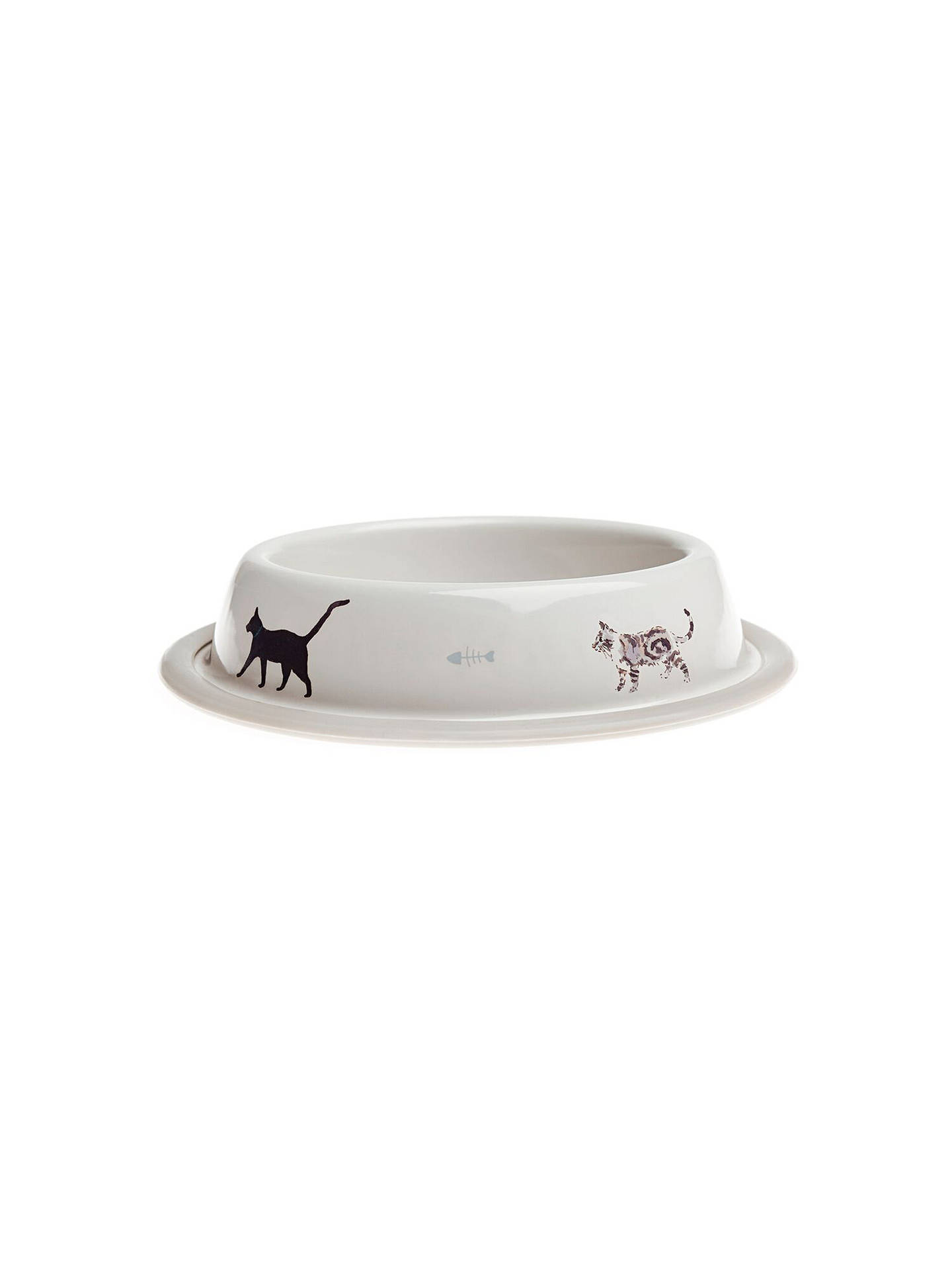 BuySophie Allport Purrfect Cat Bowl Online at johnlewis.com