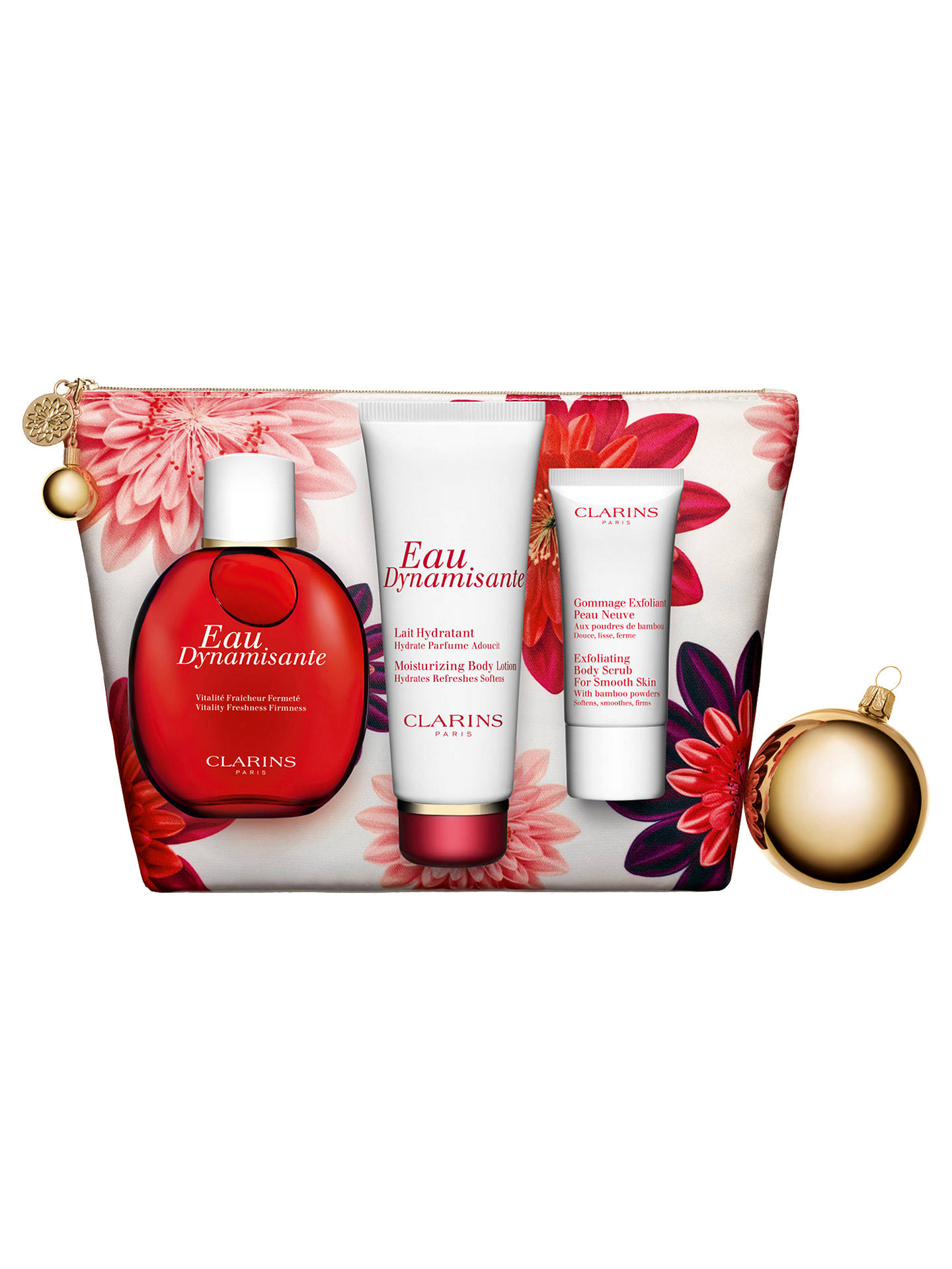 BuyClarins Eau Dynamisante Collection Fragrance Gift Set Online at johnlewis.com