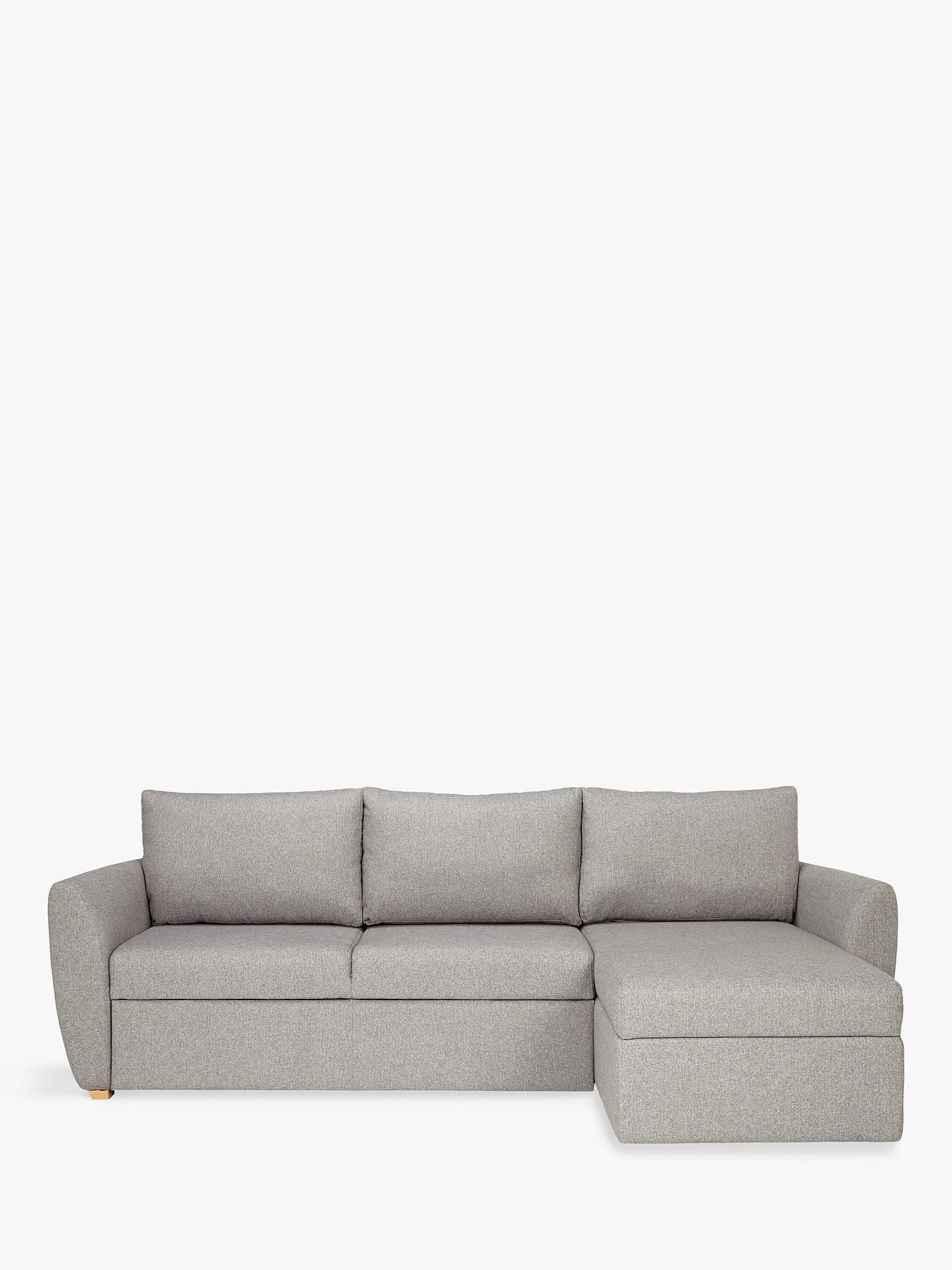 John Lewis & Partners Sansa Splayed Arm Sofa Bed, Saga ...