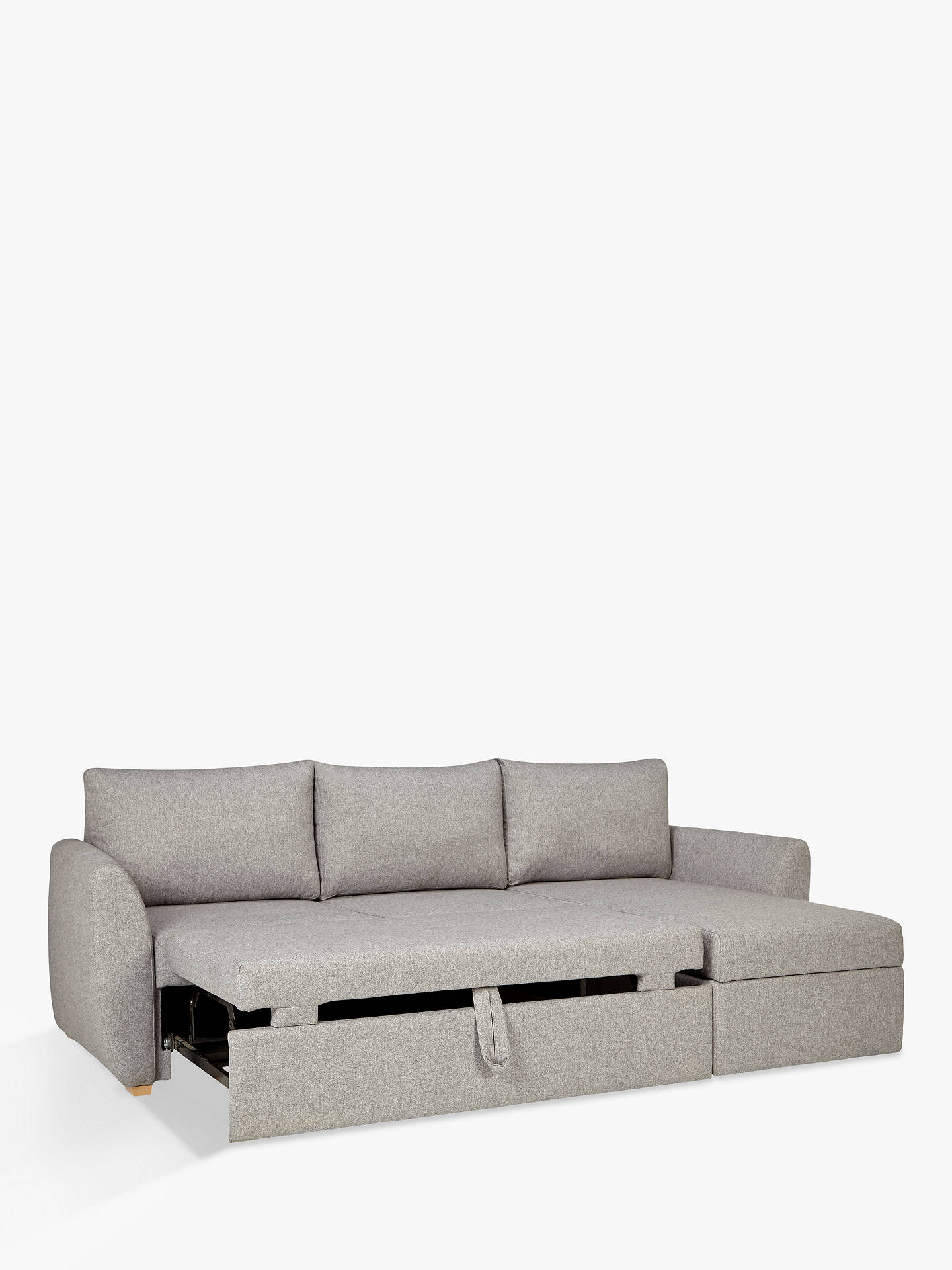 Amazing John Lewis Partners Sansa Splayed Arm Sofa Bed Saga Grey Alphanode Cool Chair Designs And Ideas Alphanodeonline