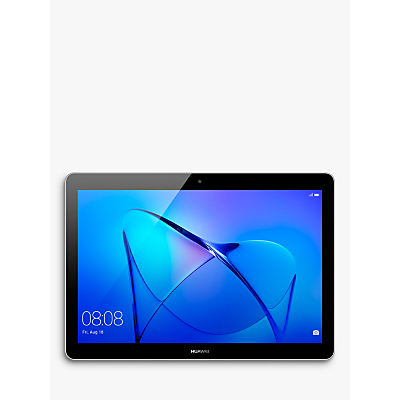"Huawei MediaPad T3 10 Tablet, Android, Qualcomm MSM8917, 2GB RAM, 16GB eMMC, 9.6"", Grey"