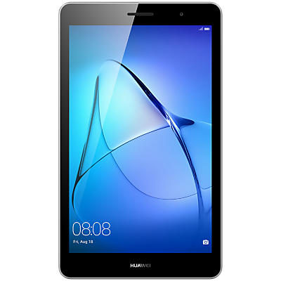 "Image of Huawei MediaPad T3 8 Tablet, Android, Qualcomm MSM8917, 2GB RAM, 16GB eMMC, 8"", Grey"