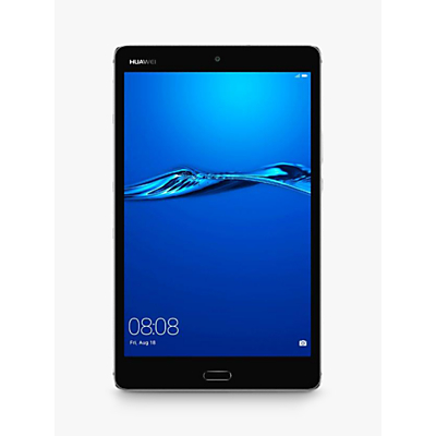 "Huawei MediaPad M3 8 Lite Tablet, Android, Qualcomm MSM8940, 3GB RAM, 32GB eMMC, 8"", Grey"