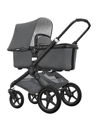 Buy Bugaboo Fox Classic Complete Pushchair, Grey Melange Online at johnlewis.com