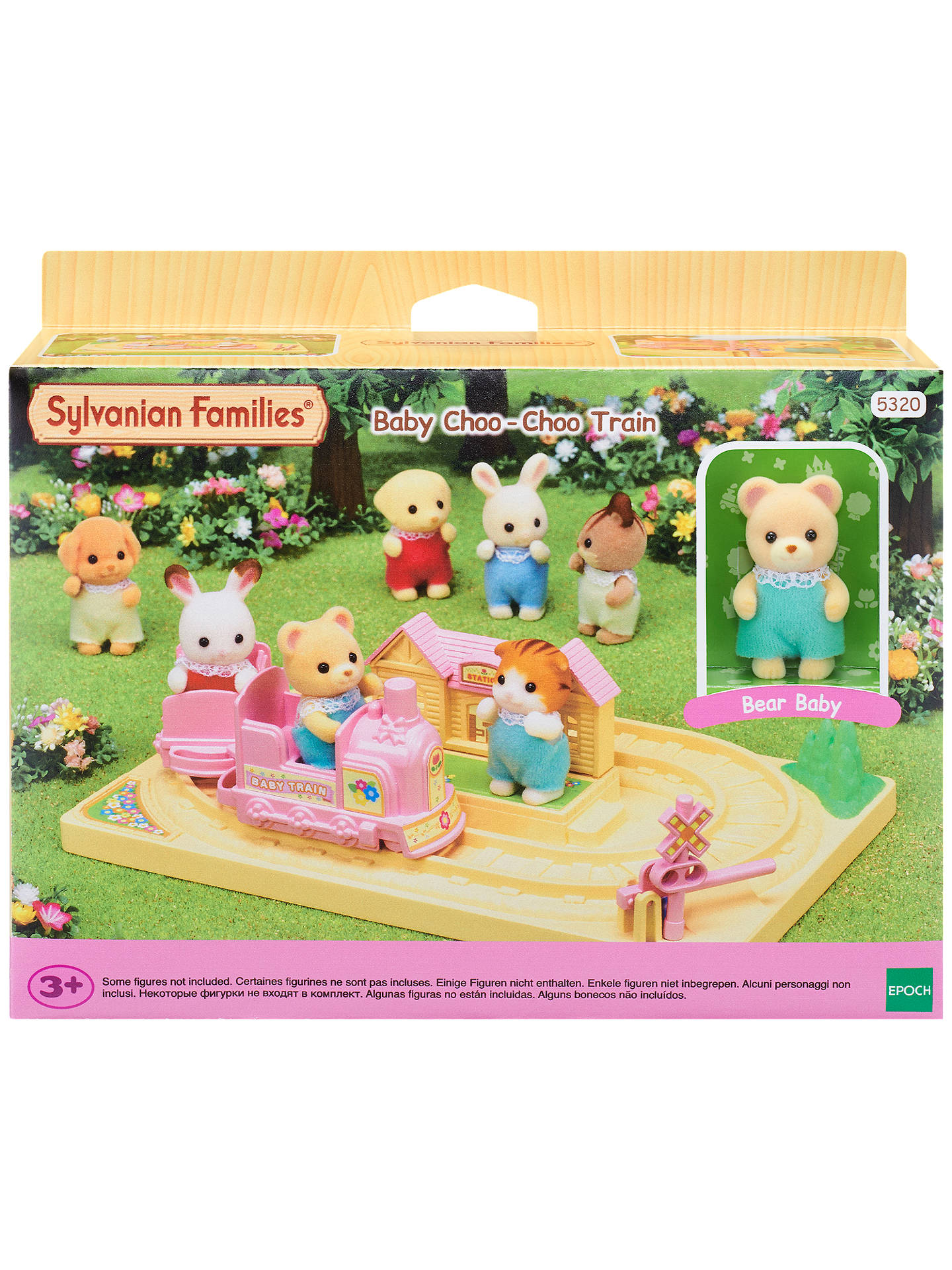 BuySylvanian Families Baby Choo-Choo Train Online at johnlewis.com ... d1202925563e