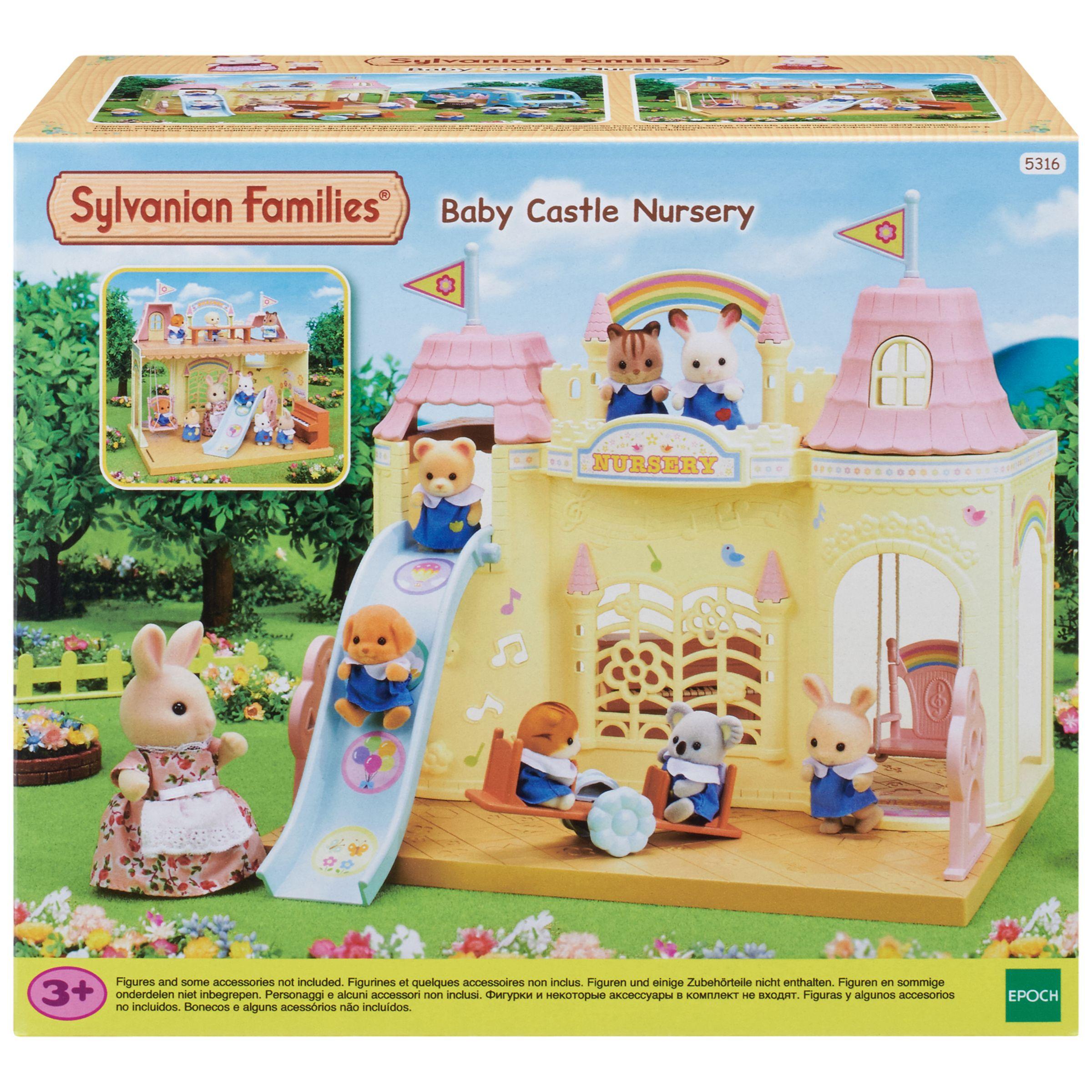Sylvanian Families Sylvanian Families Baby Castle Nursery