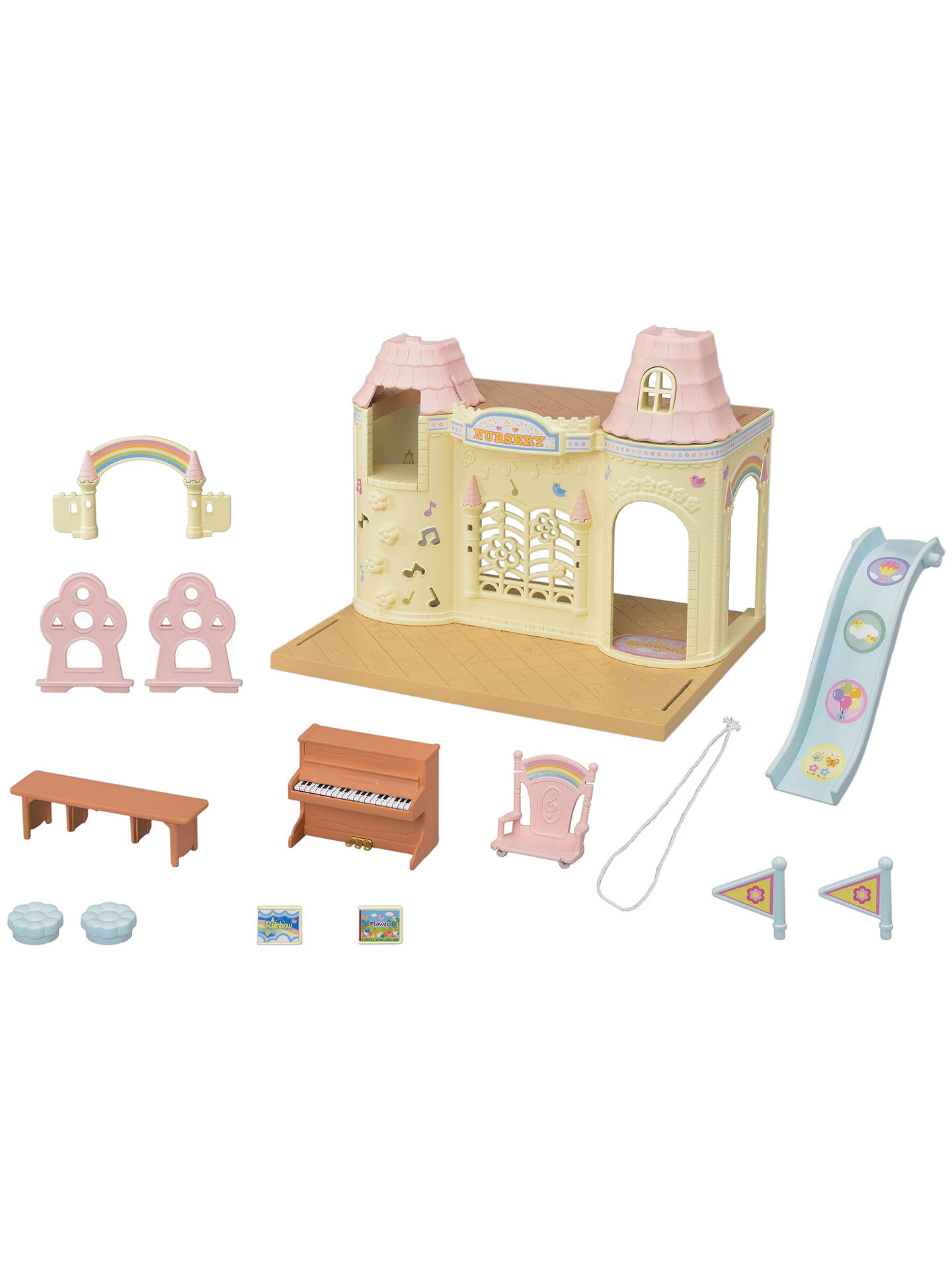 Buy Sylvanian Families Baby Castle Nursery Online at johnlewis.com