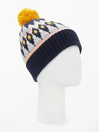 313cce2efaf Boden Fairisle Wool Blend Beanie Hat