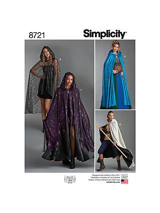 Sewing Patterns Simplicity Vogue Patterns John Lewis Partners