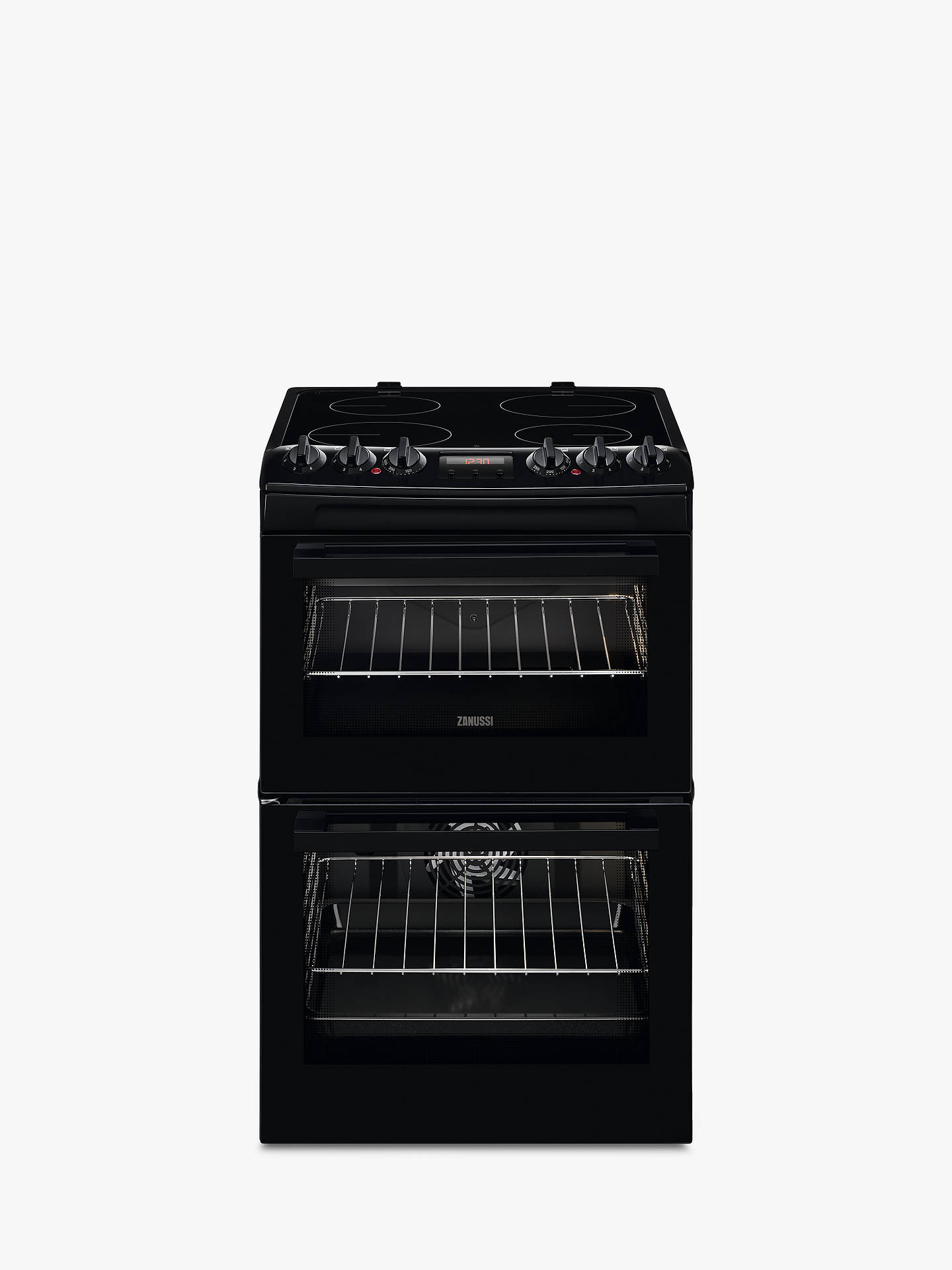 Amazing Zanussi Zcv46250Ba Freestanding Electric Cooker A Energy Rating Wiring Digital Resources Cettecompassionincorg