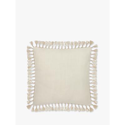 Elizabeth Scarlett Plain Tassel Cushion