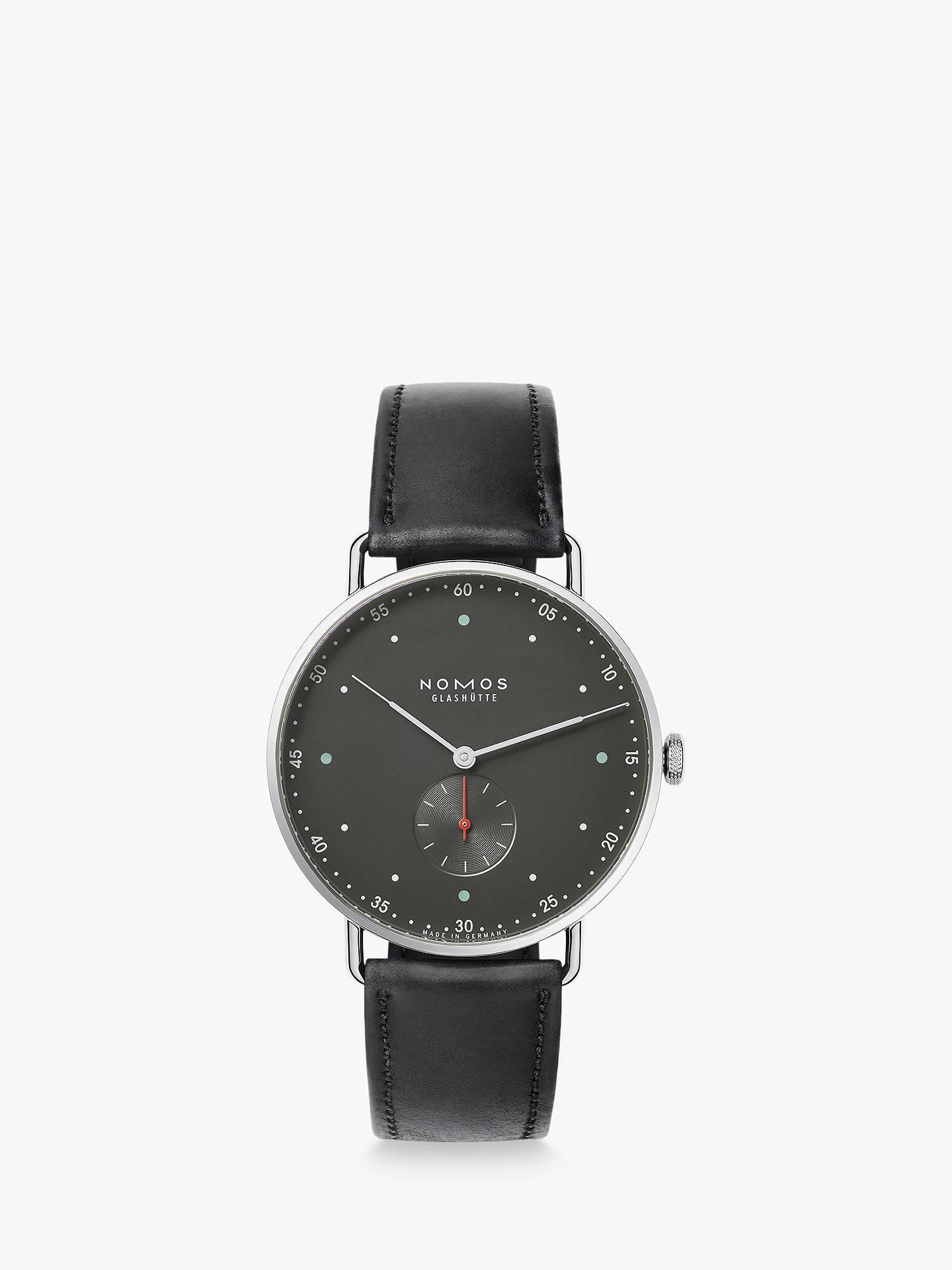 401bf08faaa Buy NOMOS Glashütte 1111 Unisex Metro Leather Strap Watch