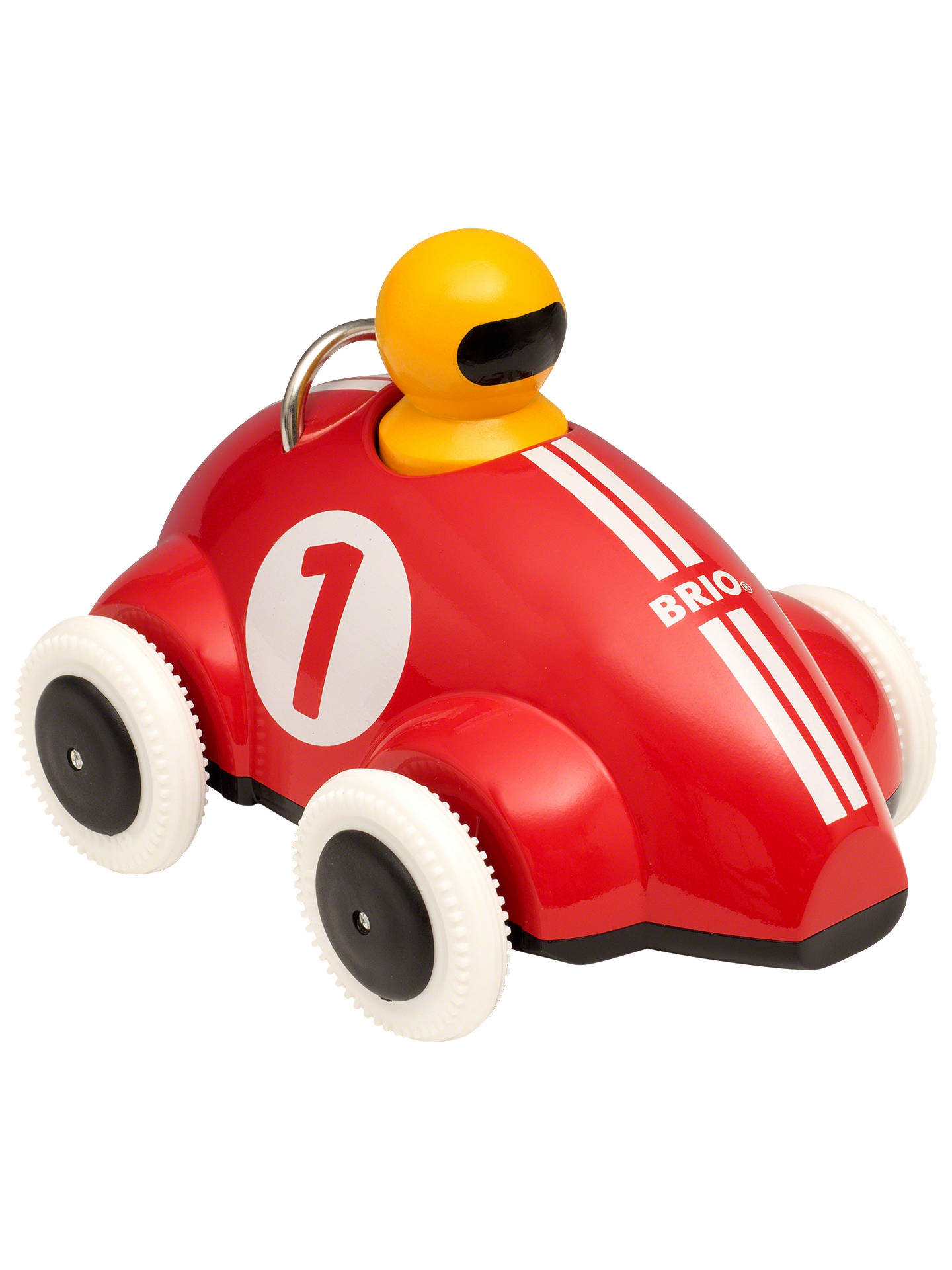 Buy Brio Push And Go Racer Car Wooden Toy Online at johnlewis.com