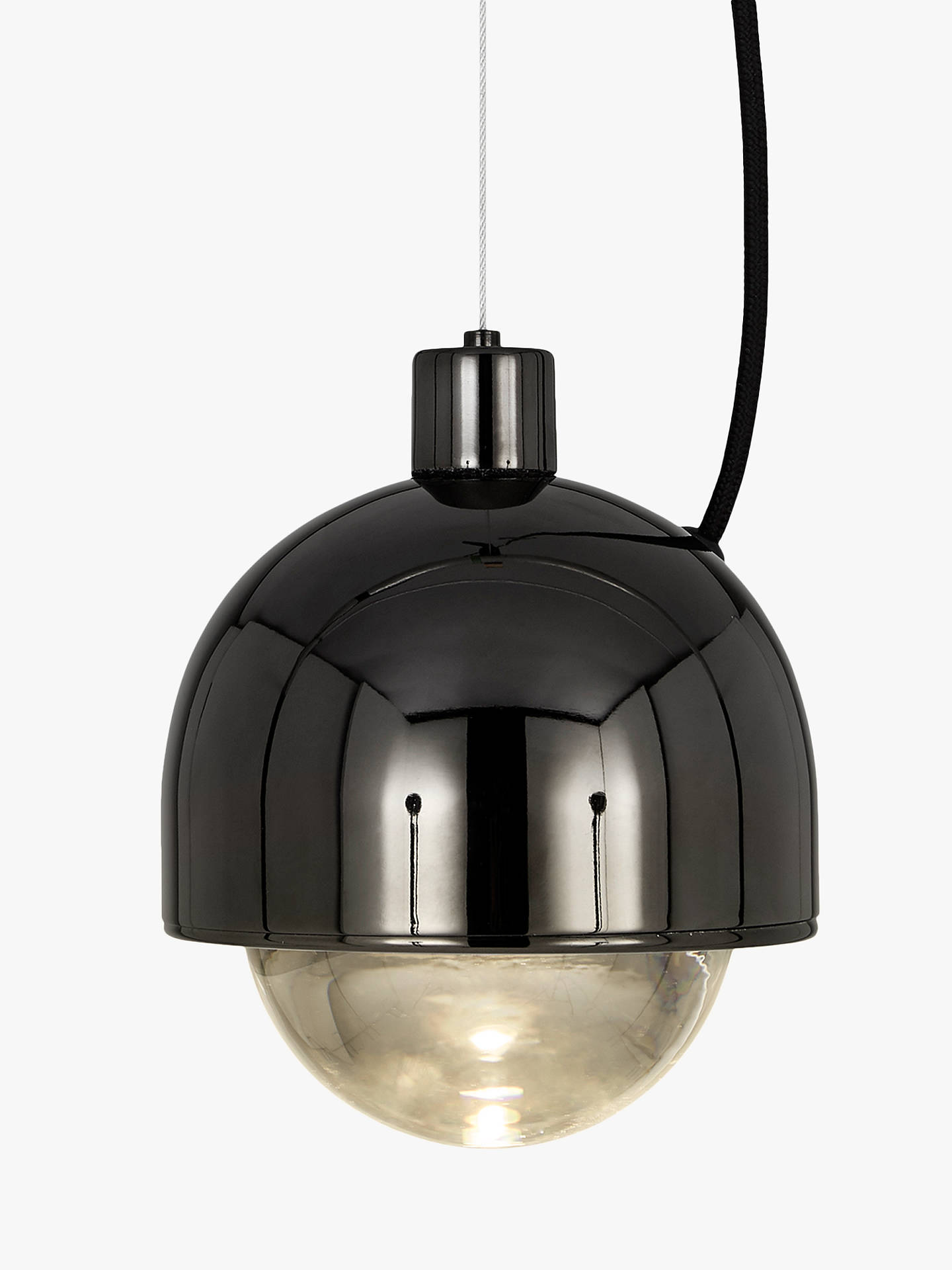 Buy Tom Dixon Spot Ceiling Pendant, Black Online at johnlewis.com
