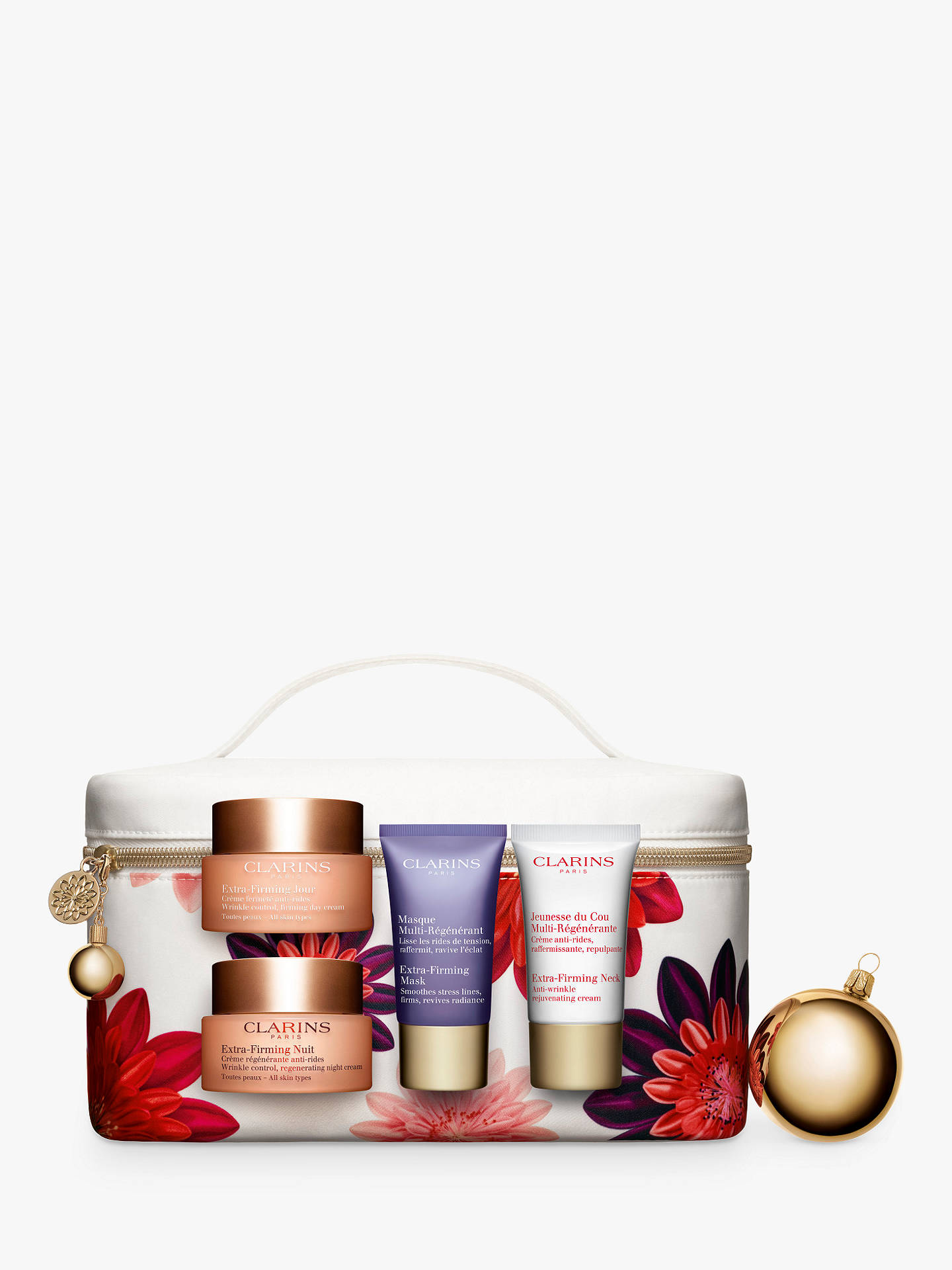 Clarins Extra Firming Collection Skincare Gift Set At John Lewis Day Cream 15ml Night