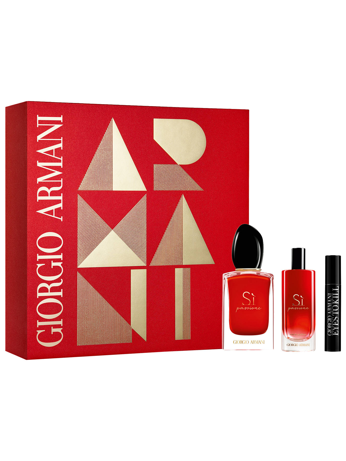 56b57c5d9 Buy Giorgio Armani Sì Passione Eau de Parfum 50ml + Mascara Gift Set Online  at johnlewis