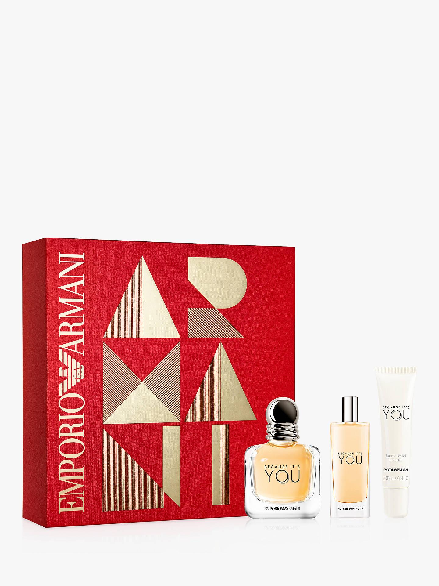 44b29d087dc BuyEmporio Armani Because It s You Eau de Parfum 50ml Gift Set Online at  johnlewis.com
