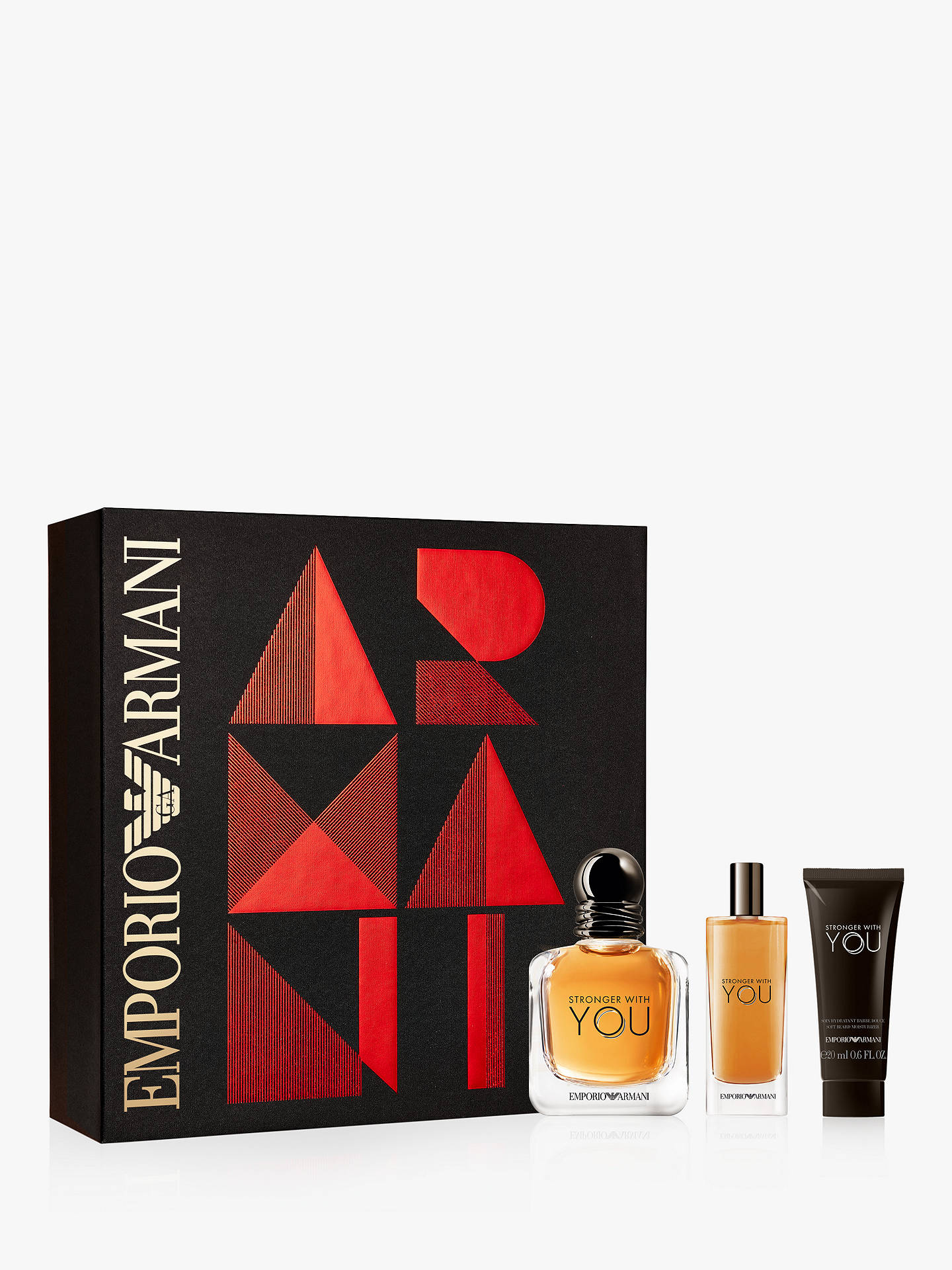 69ca4a3556 Emporio Armani Stronger with You Eau de Toilette 50ml Gift Set at ...