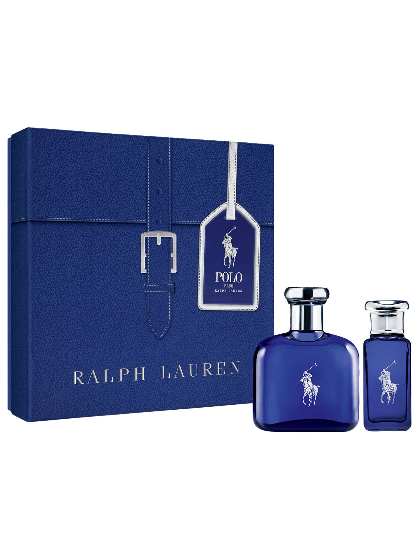 c9b167fc5a Buy Ralph Lauren Polo Blue Eau de Toilette 75ml Gift Set Online at  johnlewis.com