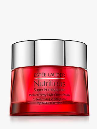 Estée Lauder Nutritious Super-Pomegranate Radiant Energy Night Creme/Mask, 50ml