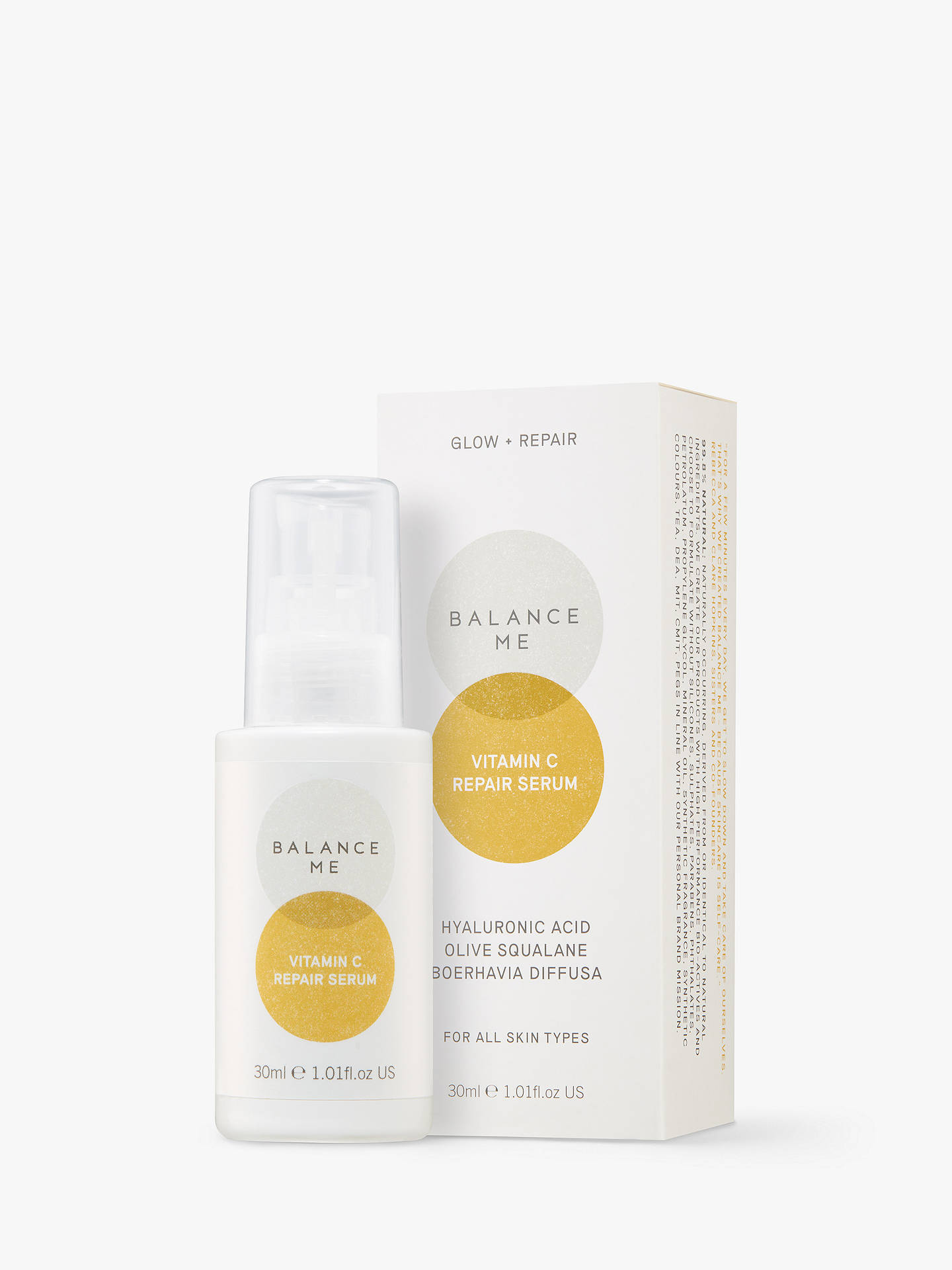 BuyBalance Me Vitamin C Repair Serum, 30ml Online at johnlewis.com