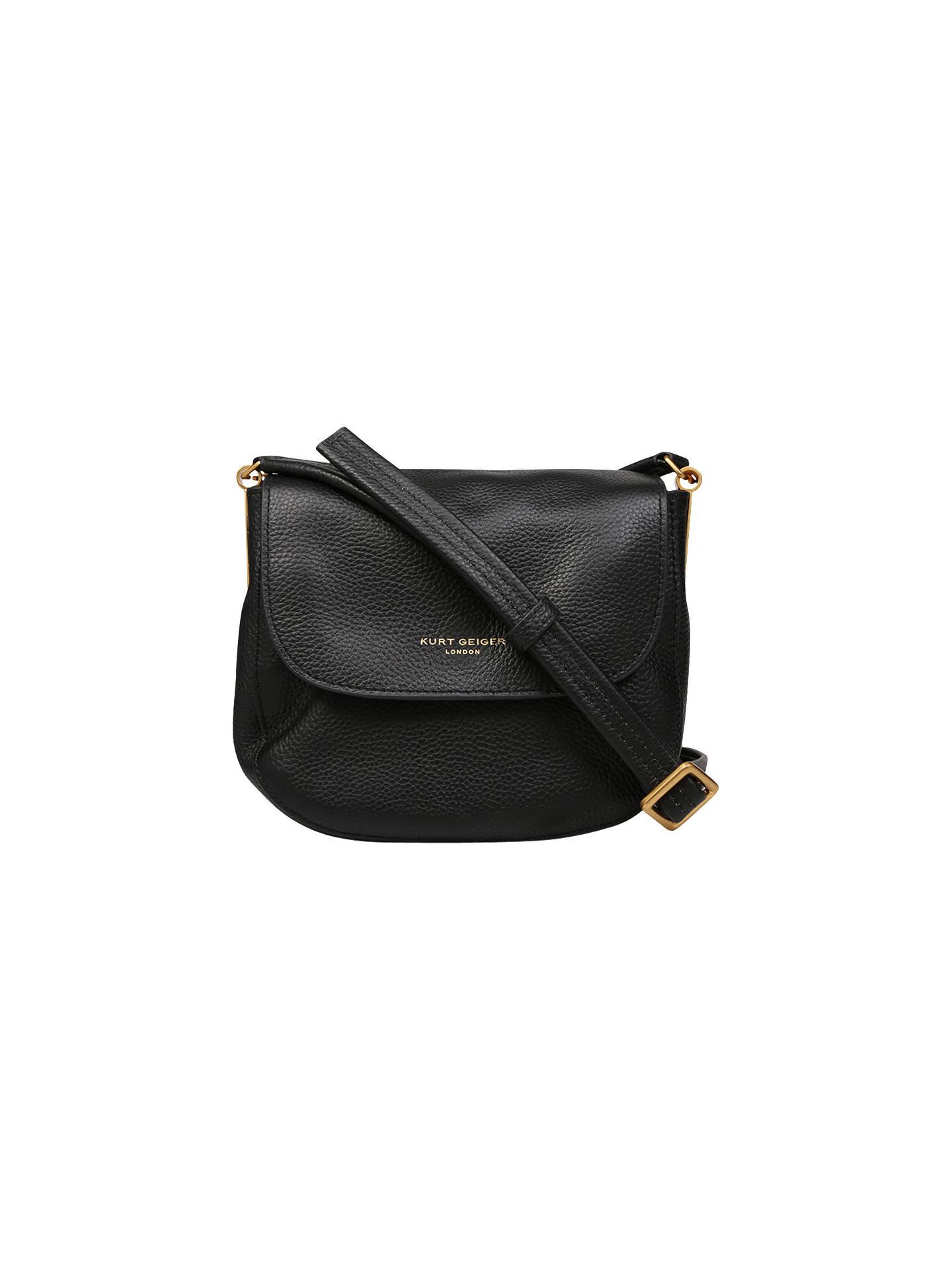 cfe6e6a97a1f BuyKurt Geiger Small Emma Saddle Handbag