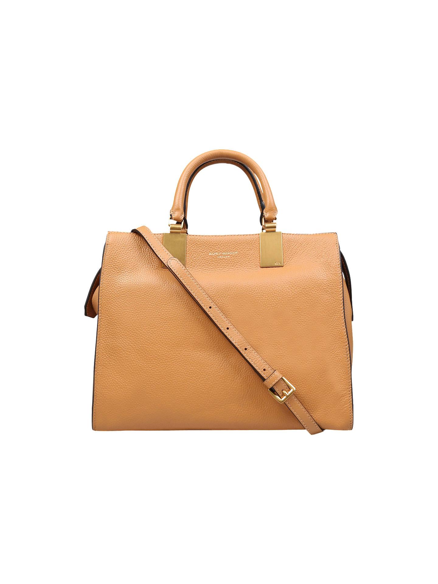 dd73ac78d3c0 Kurt Geiger London Emma Leather Tote Bag, Camel