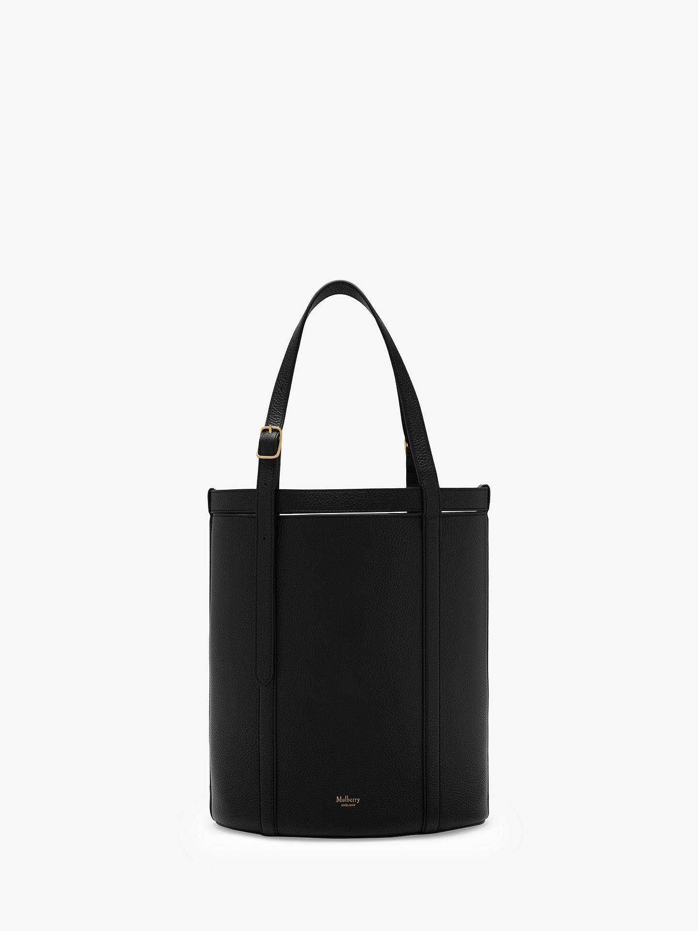 ... usa buymulberry small wilton classic grain leather bucket tote bag  black online at johnlewis 18f57 f38eb 5b539ac643c9f