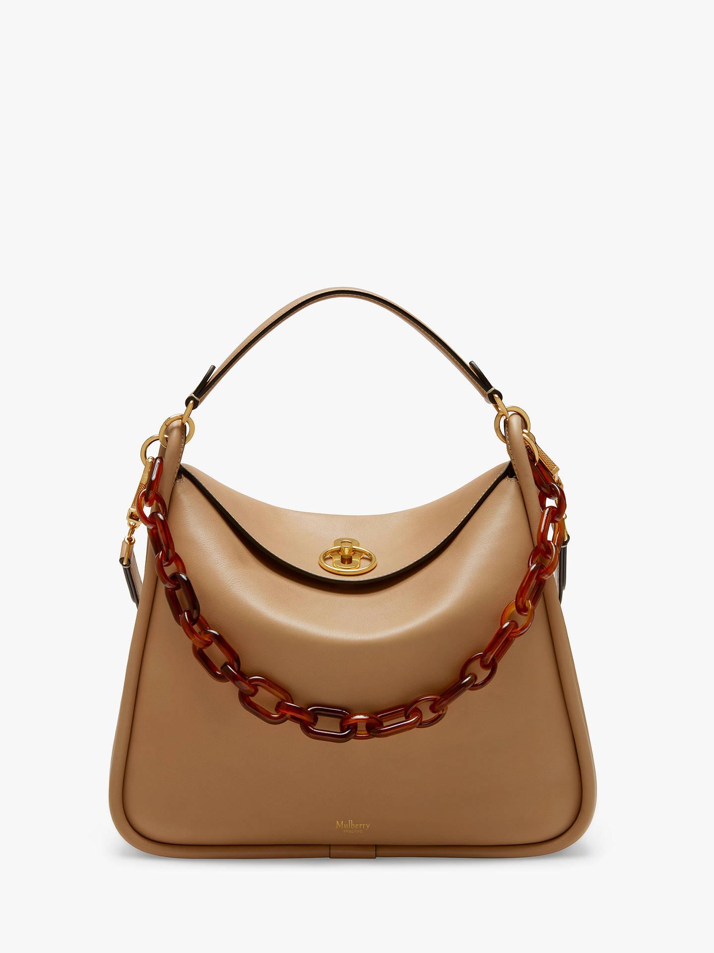 9b50a30eefe2 BuyMulberry Leighton Silk Calf Leather Grab Bag