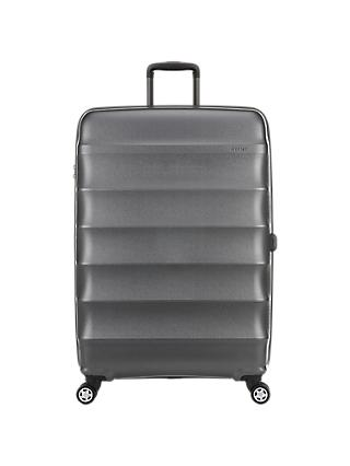 Antler Juno Metallic 4-Wheel 79cm Large Suitcase