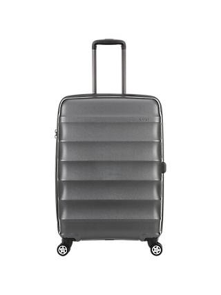 Antler Juno Metallic 4-Wheel 68cm Medium Suitcase