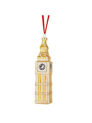 John Lewis & Partners Big Ben Bauble, Gold