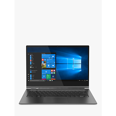 Image of Lenovo YOGA C930 Laptop, Intel Core i7, 8GB RAM, 512GB SSD, 13.9 Ultra HD Touch Screen, Iron Grey with Digital Pen
