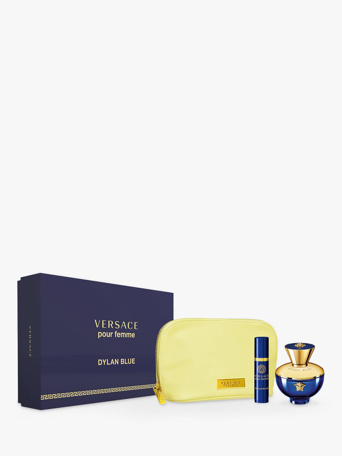 Versace Pour Femme Dylan Blue 100ml Eau De Parfum Coffret Gift Set