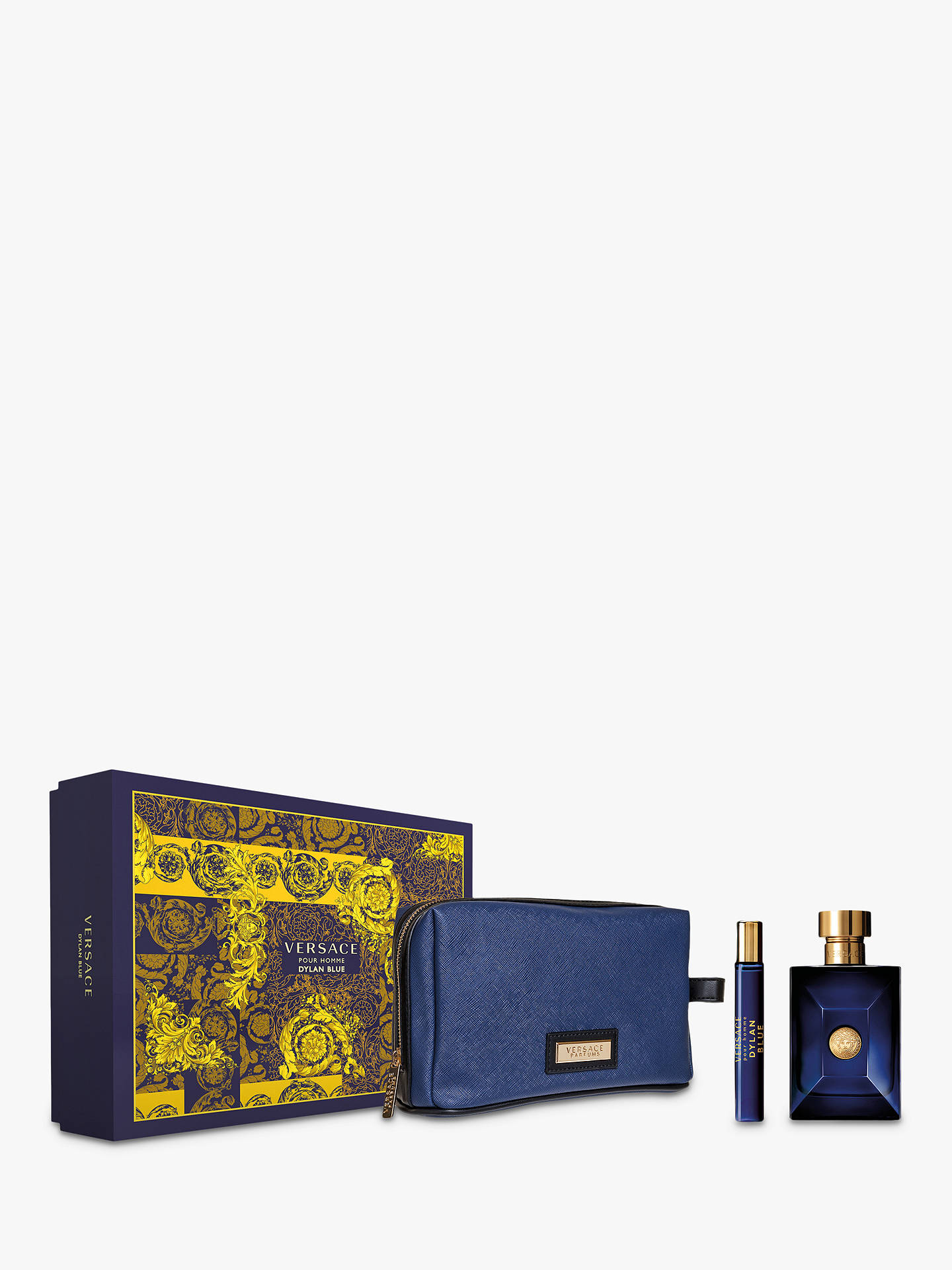 BuyVersace Dylan Blue 100ml Eau de Toilette Coffret Gift Set Online at  johnlewis.com 55a2cc8805