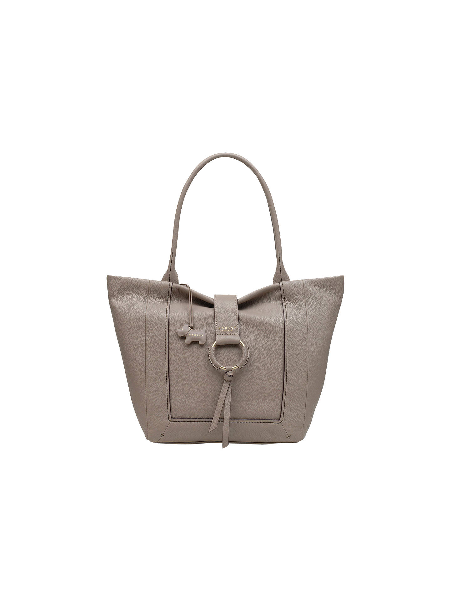 68e50d8f4c Radley Blickling Hall Large Leather Shoulder Bag at John Lewis ...