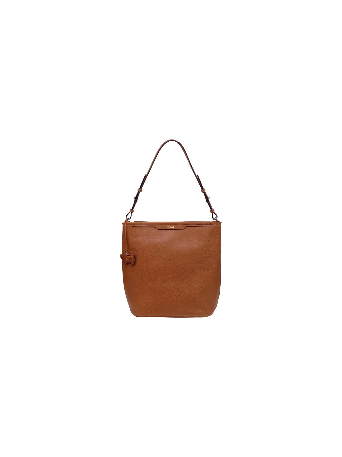 cb4a4f4f2595 Radley Medium Leather Hobo Bag at John Lewis   Partners
