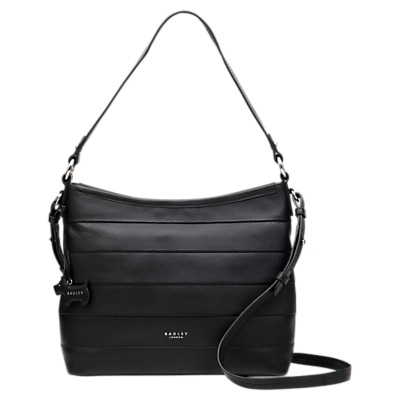 Radley Babington Medium Zip-Top Shoulder Bag, Black