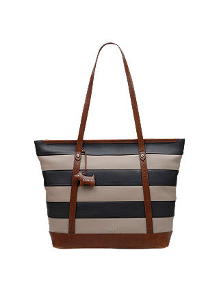 Buy Radley Large Leather Tote Bag, Multi Online at johnlewis.com