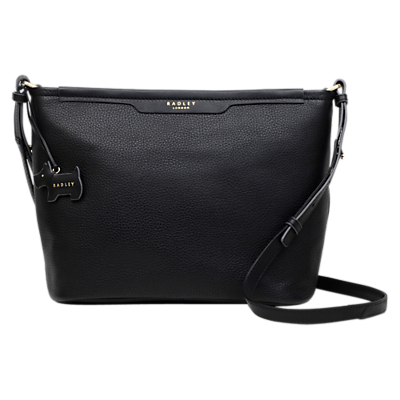 Image of Radley Leather Medium Cross Body Bag, Black