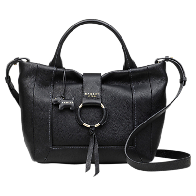 Radley Blickling Hall Medium Zip-Top Leather Grab Bag