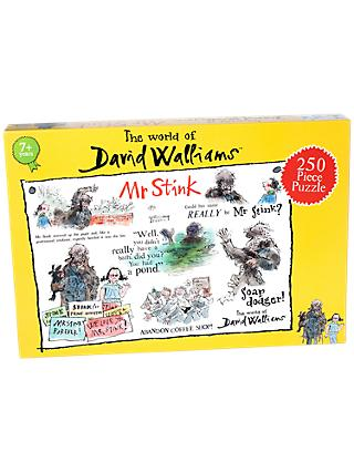 David Walliams Mr Stink Jigsaw Puzzle, 250 Pieces