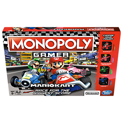 Image of Monopoly Mario Kart Game