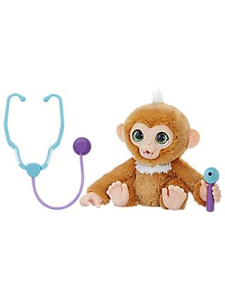 Hasbro FurReal Check-Up Zandi Monkey