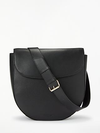 Modalu Sofia Leather Shoulder Bag, Black