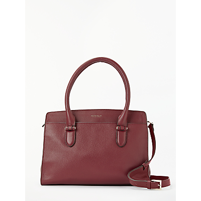 27fa1de679f1 modalu roma leather grab bag