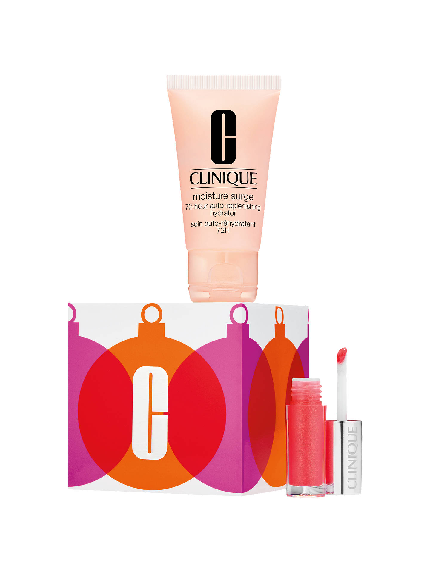 Christmas Makeup Gift Sets.Clinique Merry Moist Ornament Christmas Makeup Gift Set At