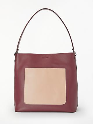 Modalu Imogen Leather Hobo Bag