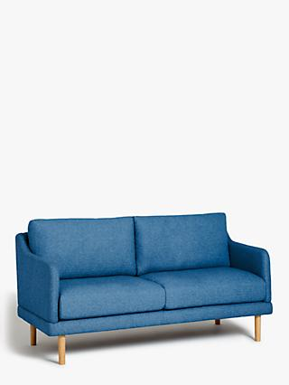House by John Lewis Sweep Medium 2 Seater Sofa, Light Leg