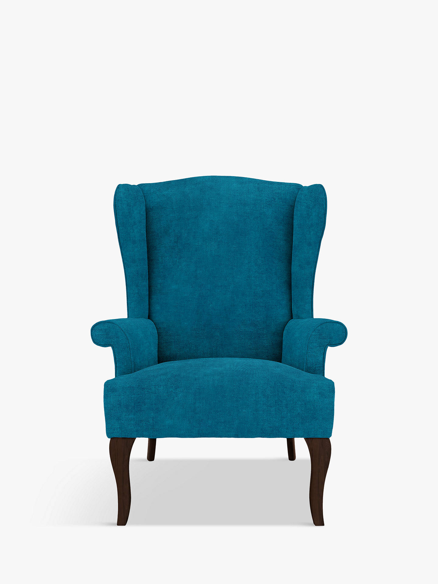 9867666870b0 Buy John Lewis & Partners Shaftsbury Armchair, Dark Leg, Victoria Teal  Online at johnlewis ...